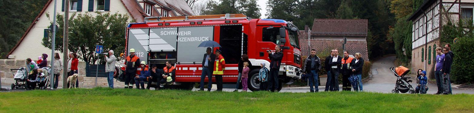 Auch einige Zuschauer hatten den Weg zum Abnahmeort, Festplatz Schwarzenbruck gefunden.