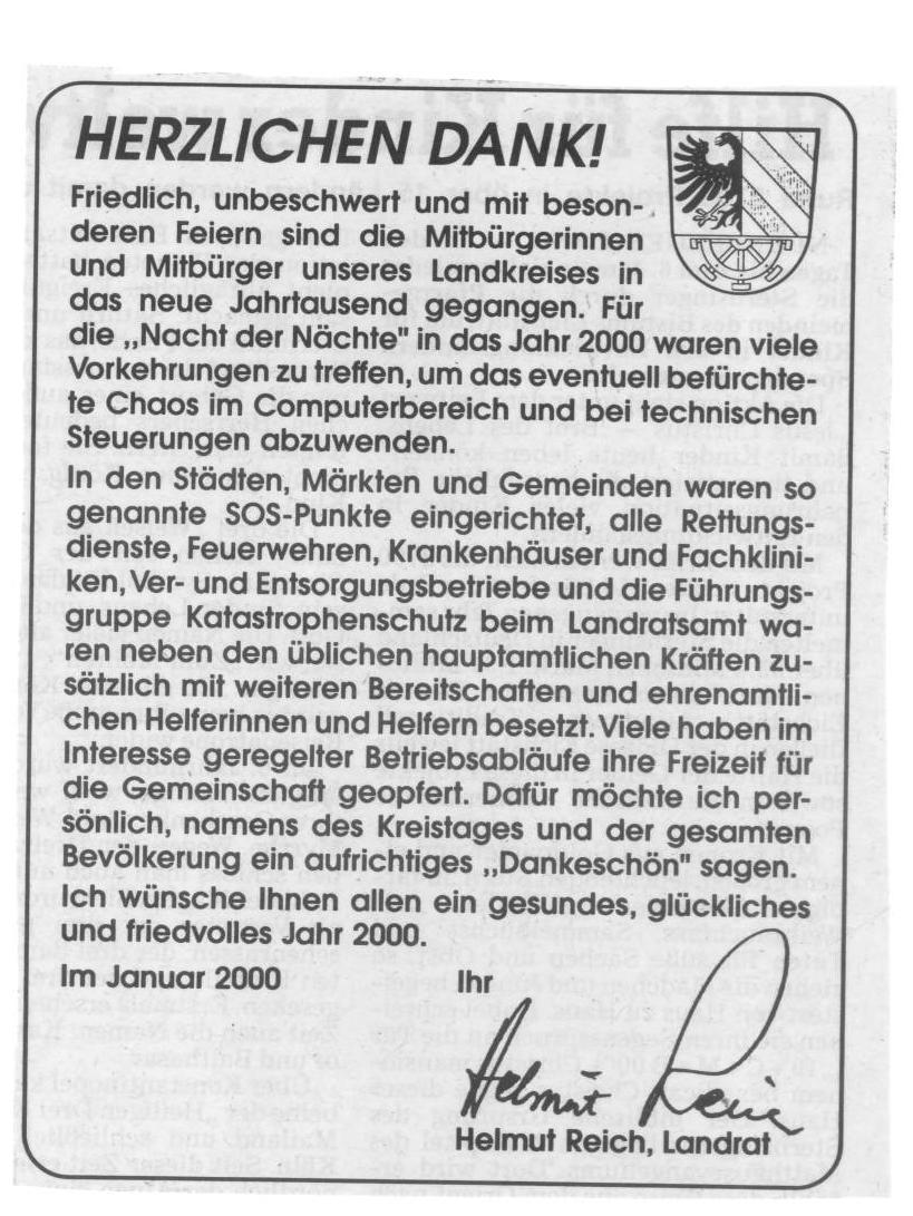 31_12_1999-Zeitungsbericht -3-Bereitschaft-zum-Jahrtausendwechsel