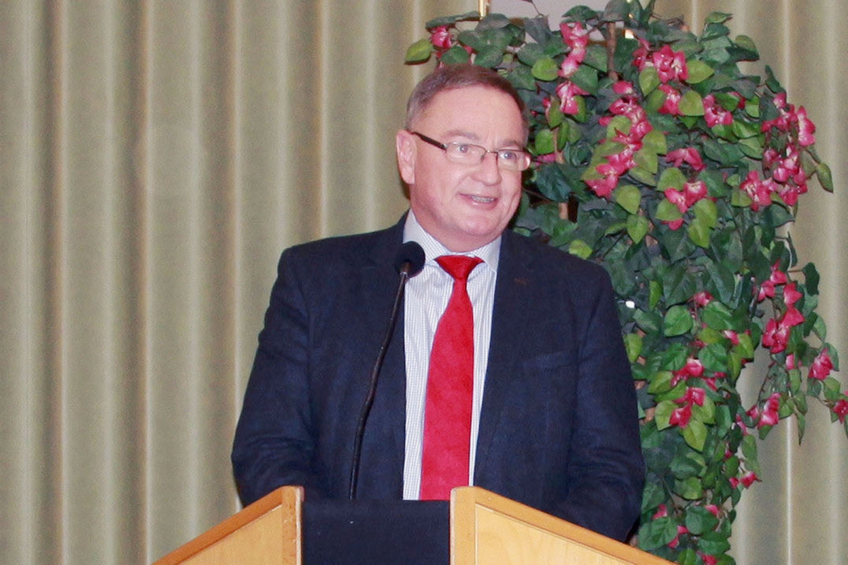 Bürgermeister Bernd Ernstberger